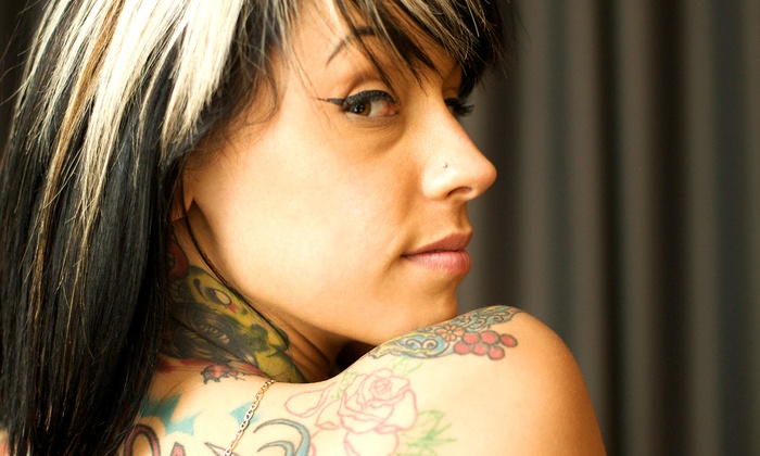 Dilligaf Tanning, Tattoo, & Piercing - Gravel Hill: Tattoo, Piercing, or Body Jewelry at Dilligaf Tanning, Tattoo, & Piercing (Up to 60% Off). Five Options Available.