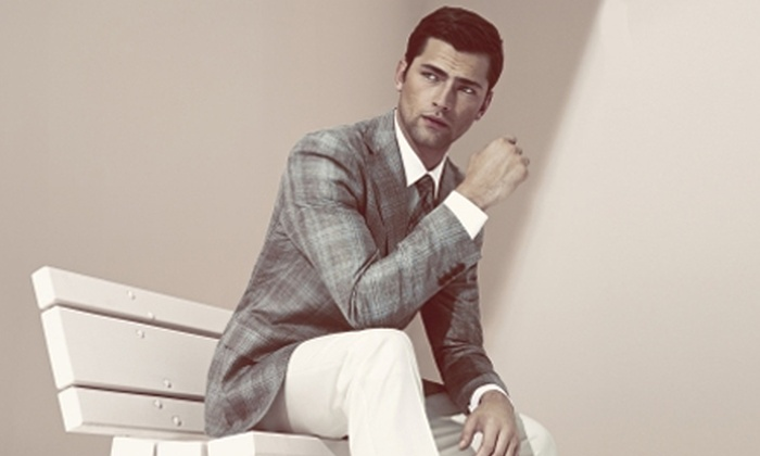 Sarar - West Hollywood: Upscale Menswear, Suits, and Accessories from Sarar (Up to 58% Off). Two Options Available.
