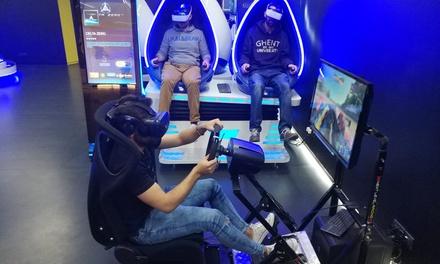 30 minutos de experiencia VR para 2 o 4 personas o cumpleaños para 10 personas desde 17,95 € en Immotion Vr Logroño
