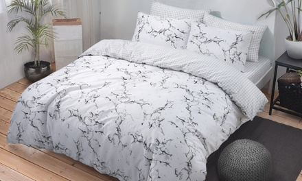 Pieridae Easy Care Reversible Duvet Set