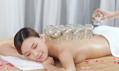 image for 60-Minute <strong>Massage</strong> with Optional Cupping Treatment from Douglas Wingate at Coveted <strong>Body</strong> Arts (Up to 50% Off)