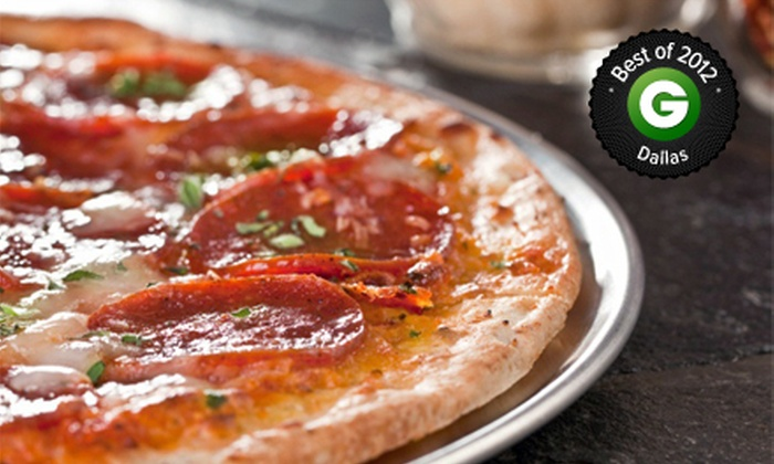 Greenville Avenue Pizza Company - Lowest Greenville: $15 for $30 Worth of Pizzeria Food at Greenville Avenue Pizza Company