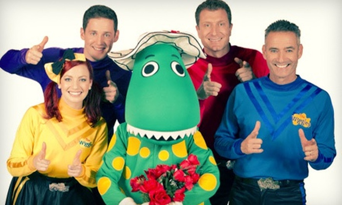 """The Wiggles: Taking Off! - Toyota Presents Oakdale Theatre: The Wiggles: """"Taking Off!"""" at Toyota Presents Oakdale Theatre on October 2 at 3 p.m. (Up to 66% Off)"""