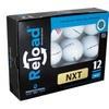 12-Pack of Premium Recycled Titleist NXT Tour Golf Balls