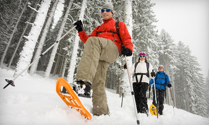 Rare Earth Adventures - Hazelwood: Guided Snowshoeing or Hiking Tour from Rare Earth Adventures (Up to 53% Off). Three Options Available.