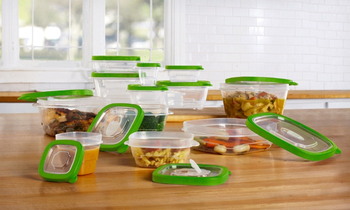 24-Piece Food-Storage Set with Microwave Vents: $13.99 for a Set of 12 Plastic Food Containers with Lids ($69.97 List Price). Free Returns.