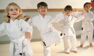 Kingdom Warriors Christian Taekwondo: Four- or Eight-Week Taekwondo After-School Program at Kingdom Warriors Christian Taekwondo (Up to 55% Off)