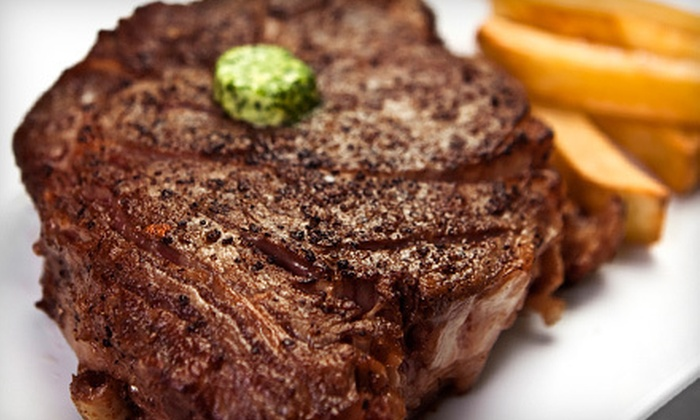 Waterfront Bar and Grille - Plymouth: Seafood and Steaks for Two or Four at Waterfront Bar and Grille (Up to 52% Off)