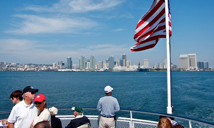 Hornblower Cruises - Embarcadero: Two-Hour Harbor Cruise for Two, Four, or Six from Hornblower Cruises (41% Off)