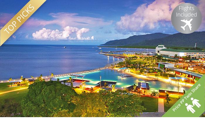 Cairns: 4.5-Star Stay + Flights 0
