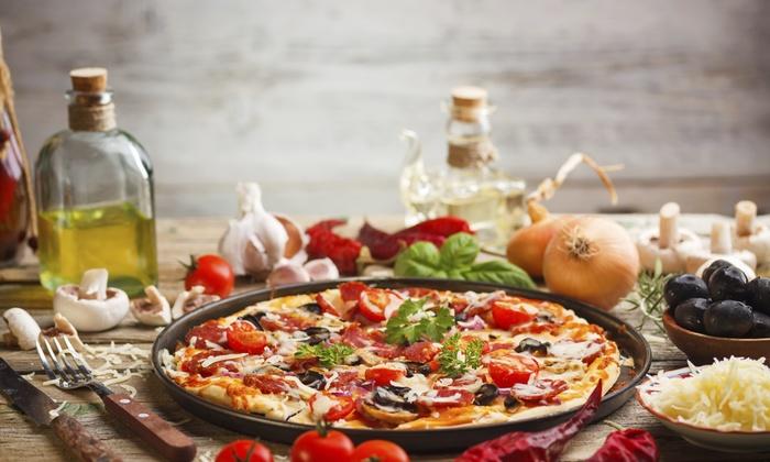 Carolina Pizzeria - Greenville: $8 for $15 Worth of Pizza — Carolina Pizzeria