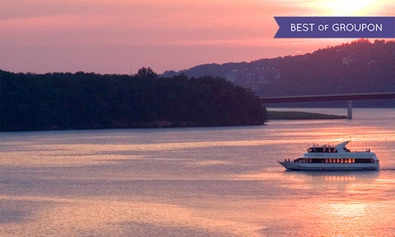 Narrated Lake of the Ozarks Tour, Happy Hour Cruise, or Sunset Cruise from Celebration Cruises (Up to 50% Off)