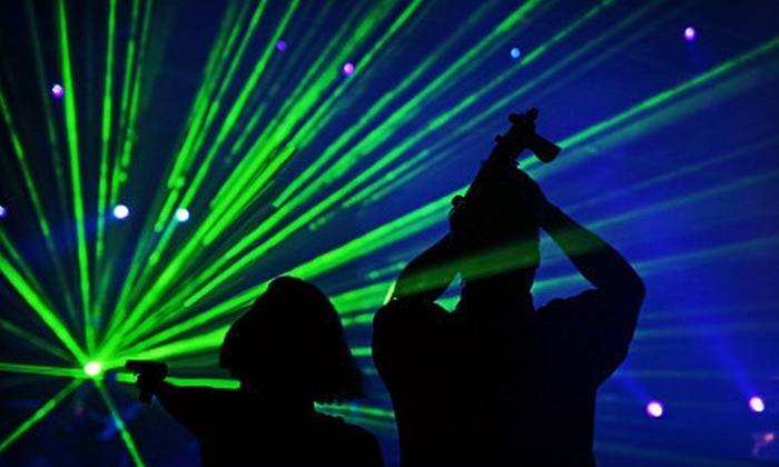 Badger Sports Park - Appleton: $24 for Four Sessions of Laser Tag at Badger Sports Park ($48 Value)