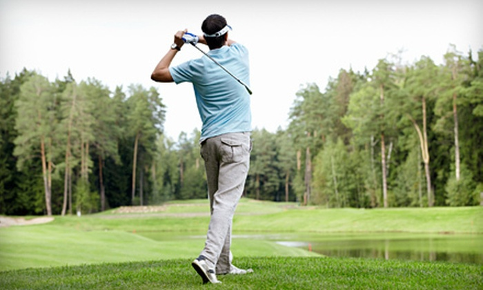 Eighteen Pastures Golf Course and Tall Timbers Golf Course - Multiple Locations: Weekday or Weekend Round of Golf for Two or Four at Eighteen Pastures Golf Course or Tall Timber Golf Course (Up to 55% Off)