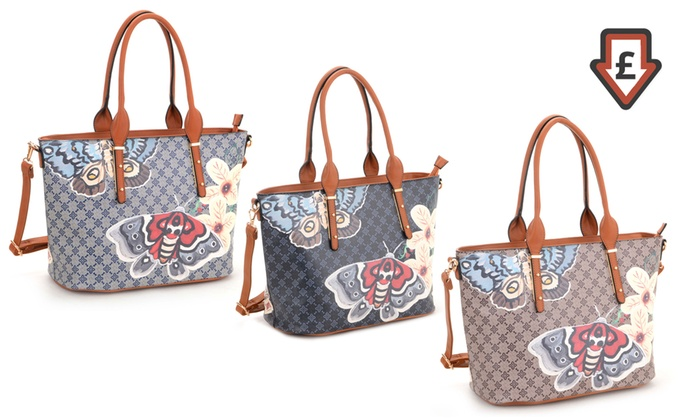 14cfc00882 Women s Butterfly-Print Tote