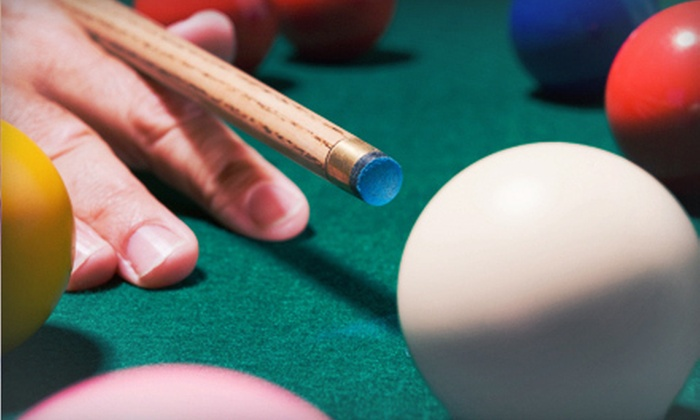 Sneaky Pete Billiards - North Windham: $15 for $30 Worth of Traditional American Bar Food and Billiards at Sneaky Pete Billiards