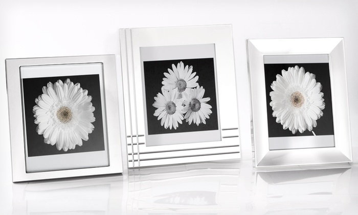"Towle or Mikasa 8""x10"" Frame: Towle or Mikasa 8""x10"" Silver-Plated Frame (Up to 62% Off). 3 Styles Available. Free Shipping and Returns."