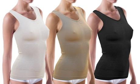 1 o 3 camisetas con efecto adelgazante