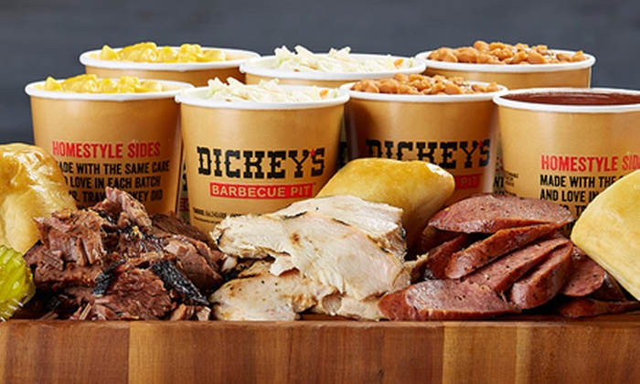 Dickey's Barbecue Pit - Pleasant Hill: Barbecue and Homestyle Sides at Dickey's Barbecue Pit (Up to Half Off). Two Options Available.