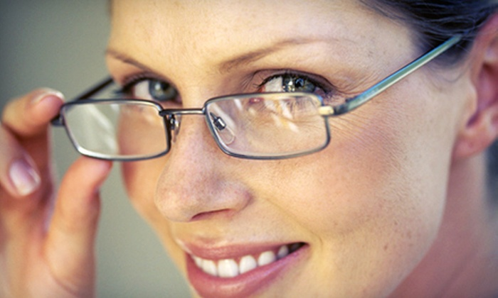 Vision Boutique - Lakeview: $59 for an Eye Exam Package with a $175 Credit Toward Glasses at Vision Boutique ($270 Value)