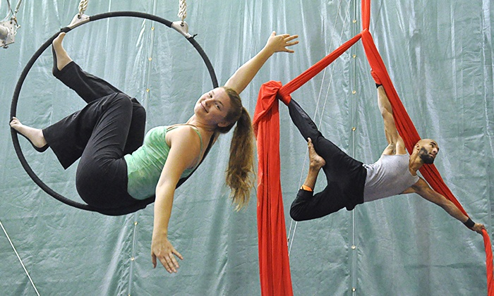 Trapeze School New York in Chicago - Trapeze School New York in Chicago: $30 for One Circus Class at Trapeze School New York in Chicago ($57 Value)