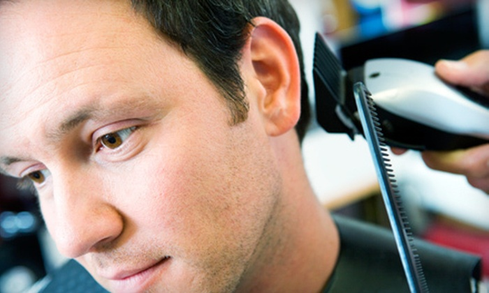 Tim's Healthy Hair Care Center - Orlando: Men's Executive-Star Cut-and-Shave Packages at Tim's Healthy Hair Care Center (Up to 67% Off). Three Options Available.