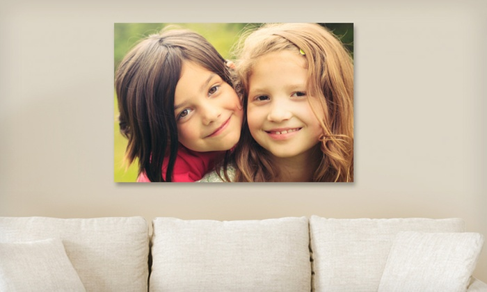 "Canvas On Demand: 1 or 2 Personalized 16""x20"" Gallery-Wrapped Canvases from Canvas On Demand (Up to 78% Off). Free Shipping."