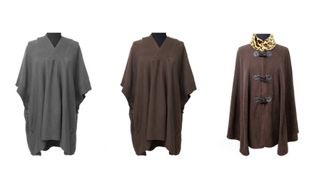 Fiore by La Fiorentina Women's Ponchos. Multiple Styles Available.