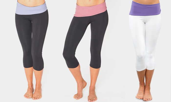 Cozy Orange Women's Pisces Yoga Crop Pants: Cozy Orange Women's Pisces Yoga Crop Pants. Multiple Colors and Sizes Available.