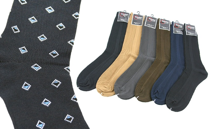 12-Pack of Knocker Men's Dress Socks: 12-Pack of Knocker Men's Dress Socks. Multiple Styles Available from $18.99–$19.99.