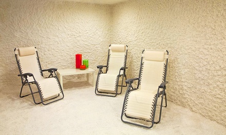 45-Minute Salt Therapy Session or One Month of Unlimited Sessions at The Salt Room (Up to 67% Off)