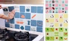 Self-Adhesive Kitchen Printed Oil-Proof Wall Sticker