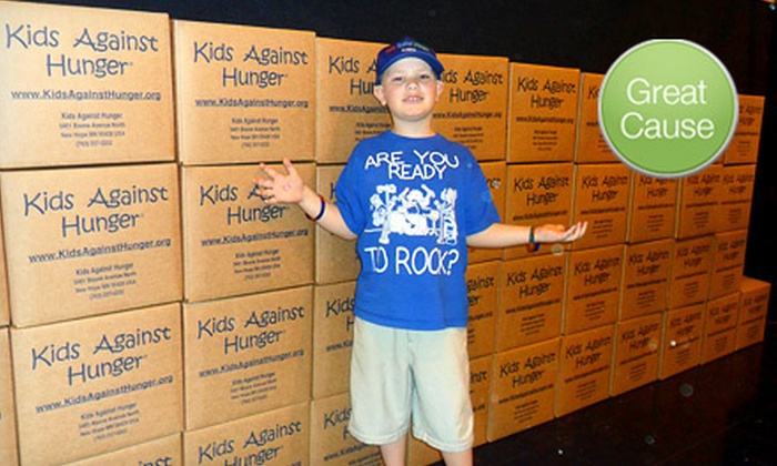 Kids Against Hunger Orlando: $10 Donation to Help Feed Underserved Families