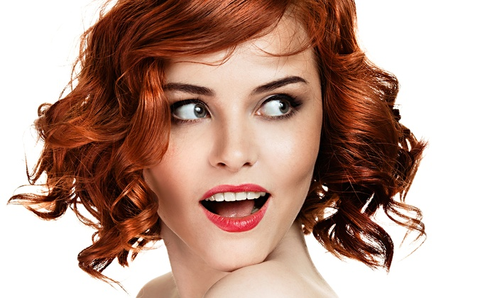 Salon Zahra - Northeast Cobb: Haircut with Moroccanoil Treatment, Single-Process Color, or Partial Highlights at Salon Zahra (Up to 68% Off)