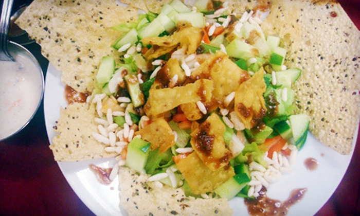 Lumbini Restaurant - Downtown: Indian and Nepalese Cuisine at Lumbini Restaurant (Half Off). Two Options Available.