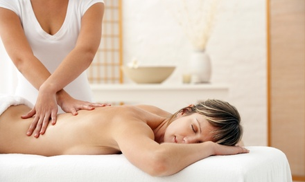 Swedish Aromatherapy Massage with Optional Hot Stone Reflexology Session at Partners in Healing (Up to 60% Off)