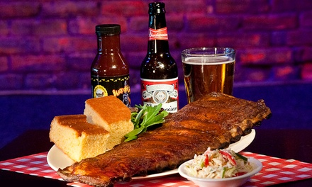 $17 for $30 Worth of BBQ and Cajun Food at Black-eyed Sally's