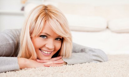$69 for Three Rooms of Carpet <strong>Cleaning</strong> from Magic Carpet ($210 Value)
