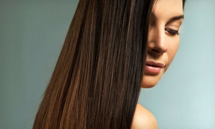 Body Boutique - Featherly Suites at Body Boutique: Haircut with Deep Conditioning, Partial Highlights or All-Over Color, or Hair-Smoothing at Body Boutique (Up to 69% Off)