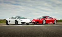 Four or Six Laps in a Sports Car or a Supercar with a 4x4 Ride for a Teenager at Drive Me