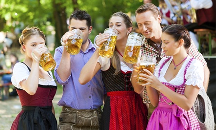 Admission for Two or Four to Mt. Crescent Oktoberfest on Saturday, October 11 (40% Off)