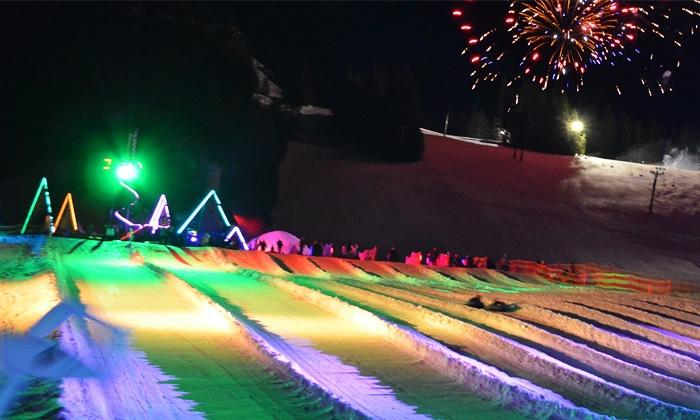 Mt. Hood Skibowl - Mount Hood: Daytime or Cosmic Snow Tubing at Mt. Hood Skibowl (50% Off). Two Options Available.
