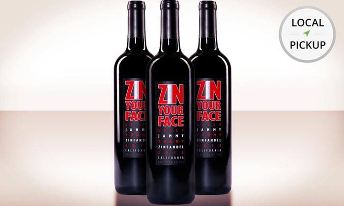 Fine Wines & Liquors - Lisle: 3 Bottles of Zin Your Face California Zinfandel. Pick Up in Store at Fine Wines & Liquors.