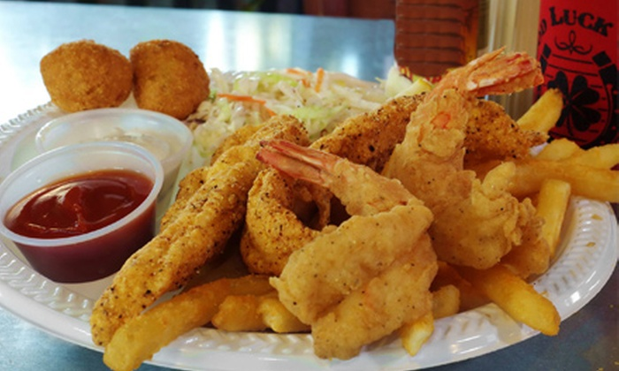 Good Luck Grill - Northeast Travis: $10 for $20 Worth of Comfort Food at Good Luck Grill