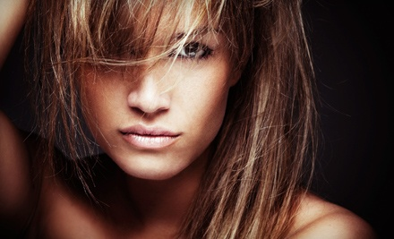 Cut and Style or a Cut-and-Color Package with Color Service, Deep Conditioning, Cut, and Style (Up to 55% Off)