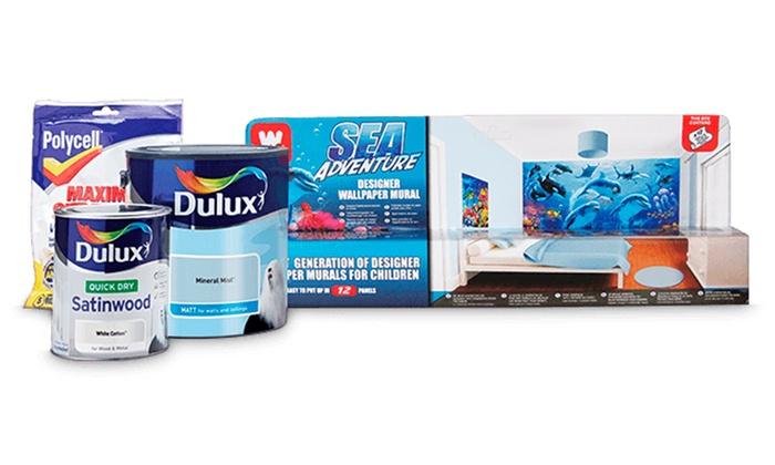 Dulux Zestaw Bedroom In A Box: Dulux Kids' Bedroom In A Box