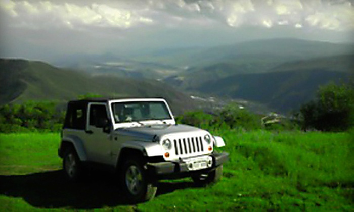 Glenwood Springs Jeep Rental - Glenwood Springs: $99 for a Full-Day Jeep Wrangler Rental from Glenwood Springs Jeep Rental ($199 Value)