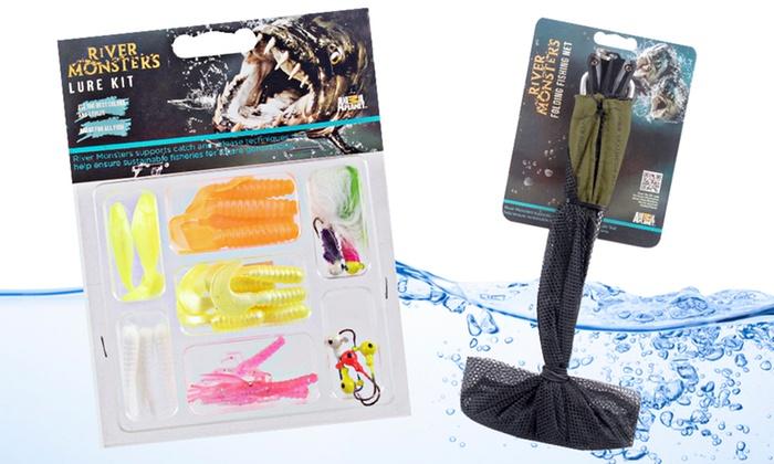 Fishing Net and Lure Kit: Fishing Net and Lure Kit. Free Returns.