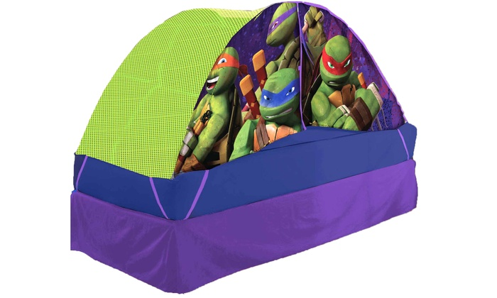 Linen Depot Direct: Teenage Mutant Ninja Turtles Bed Tent (Shipping Included)