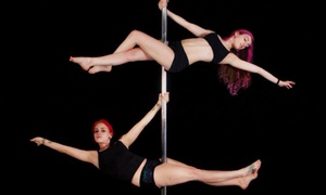 Arete Pole Fitness: 5 or 10 Pole-Dancing Classes, or One Month of Unlimited Classes at Arete Pole Fitness (Up to 62% Off)